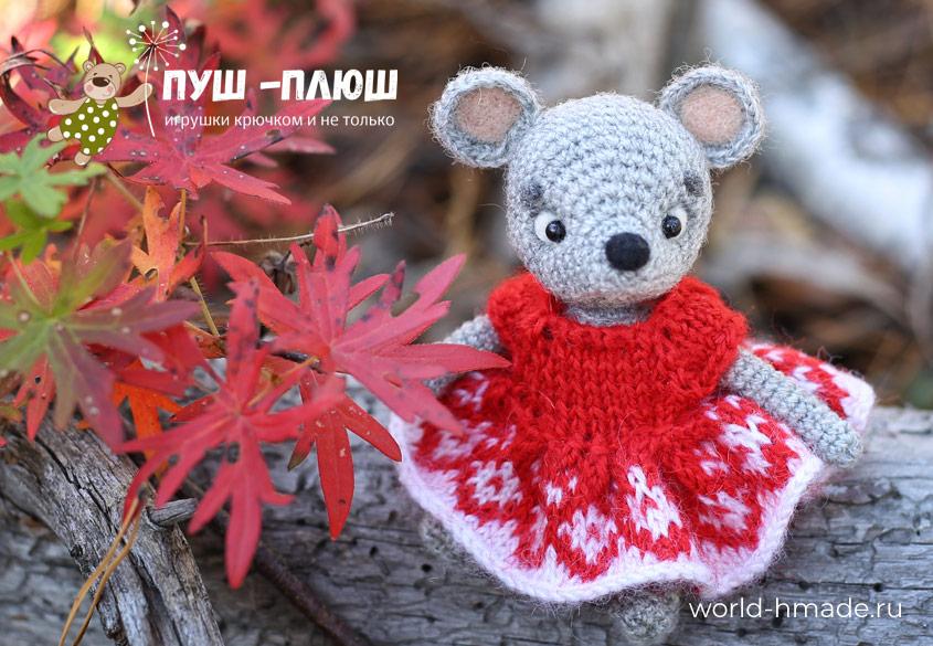 crochet_mouse_toy_0 Поиск на Постиле: мышки крючком